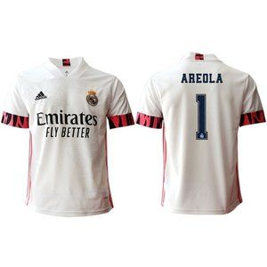 Real Madrid Alphonse Areola White 20-21 Jersey